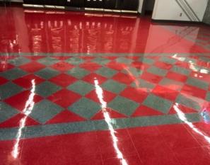 Vinyl Tile Refininshing